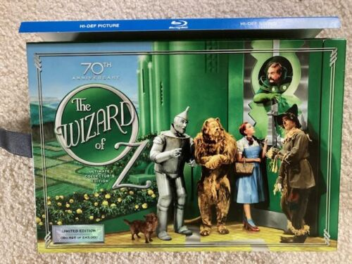 The Wizard of Oz 75th Anniversary Limited Edition Blu Ray DVD Box Set