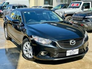 2015 Mazda 6 GJ1032 Sport SKYACTIV-Drive Black 6 Speed Sports Automatic Sedan Hoppers Crossing Wyndham Area Preview