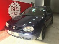 Volkswagen Golf GT TDI MANUAL (blue) 2002