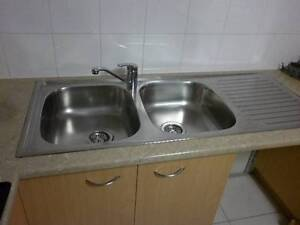 """Radiant""++Stainless Steel Sink++Double Bowl++Used 1 week Nambour Maroochydore Area Preview"