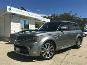 2011 Land Rover Range Rover Sport L320 11MY SUPER CHARGED AUTOBI Grey Semi Auto Wagon Southport Gold Coast City Preview