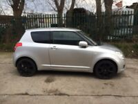 Suzuki Swift 58 plate Silver with alloy wheels