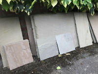 AWBS Meadow Blend mixed sandstone slabs 4.2 m2 / Tub Point fix
