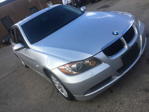 2007 BMW 328xi all wheel drive E-tested and Certified Clean car