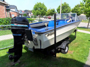 15 ft Boat and Trailer $1900