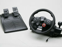 LOGITECH DRIVING FORCE GT - AS NEW - BOXED
