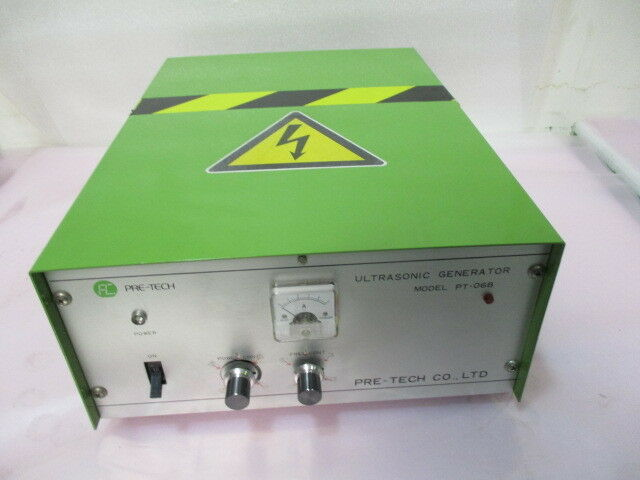 Pre-Tech Co., PT-06B, Ultrasonic Generator, 200V. 423004