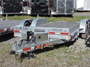 Remorque NN Basculante 18' 10K / Tilt Deck Trailer