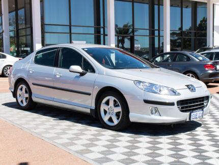2005 Peugeot 407 ST HDI Comfort Silver 4 Speed Sports Automatic Sedan Alfred Cove Melville Area Preview