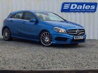 Mercedes-Benz A Class A180 CDI BlueEFFICIENCY AMG Sport 5dr (blue) 2014
