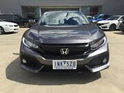 2017 Honda Civic 10th Gen MY17 VTI-LX Grey 1 Speed Constant Variable Hatchback Ravenhall Melton Area Preview