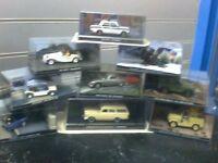 JAMES BOND CAST MODEL CARS