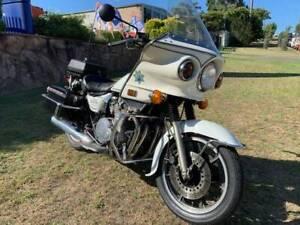 Kawasaki Z1000P KZP CHP Police Special 1982 Collectors item! Kirrawee Sutherland Area Preview