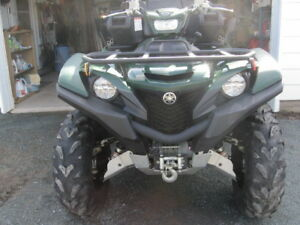 2017 YAMAHA GRIZZLY 700 EPS ONLY 1,100KMS WARRANTY TIL JAN 2019