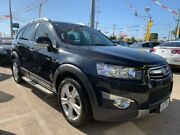 2011 Holden Captiva CG Series II 7 AWD LX Black 6 Speed Sports Automatic Wagon Maidstone Maribyrnong Area Preview
