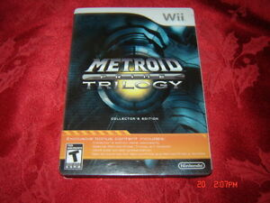 METROID PRIME TRILOGY COLLECTORS EDITION NINTENDO WII COMPLET