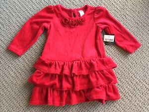 Red dress - 12-18 month
