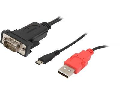 StarTech ICUSBANDR232 Micro USB to RS232 DB9 Serial Adapter Cable for Android™ w