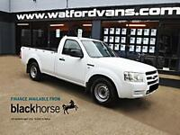2008 Ford Ranger 2.5DCi 4x2 Single Cab Pick Up E/W Diesel white Manual