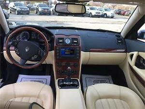 2008 Maserati Quattroporte|NAV|CAM|SUNROOF|LEATHER|NO ACCIDENTS Oakville / Halton Region Toronto (GTA) image 12