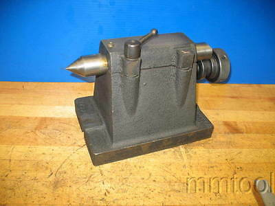 Dividing Head Foot Stock Tail Stock Indexer Approx 6.450 Center Height