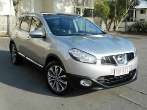2011 Nissan Dualis J10 Series II MY2010 +2 Hatch X-tronic Ti Silver 6 Speed Constant Variable Chermside Brisbane North East Preview