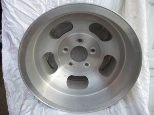 15 inch aluminum slotted rims