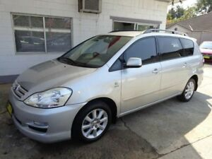 2007 Toyota Avensis ACM21R Verso Ultima Silver 4 Speed Automatic Wagon Sylvania Sutherland Area Preview