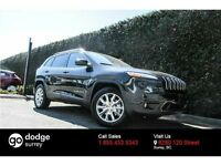 2015 Jeep Cherokee Limited 4X4, LEATHER, NAV, NO EXTRA FEES