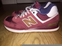 New Balance in Burgundy - Size 6 - Cost £65 - Good Condition