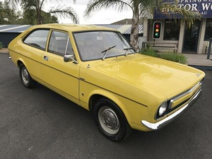 1972 Leyland Marina Deluxe Yellow 4 Speed Manual Coupe Springwood Blue Mountains Preview