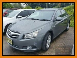 2010 Holden Cruze JG CDX Grey Manual Sedan Chipping Norton Liverpool Area Preview