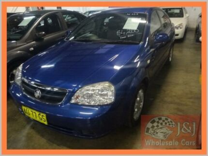 2008 Holden Viva JF MY08 Upgrade Blue 4 Speed Automatic Sedan Warwick Farm Liverpool Area Preview