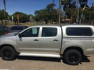 2009 Toyota Hilux KUN26R 09 Upgrade SR (4x4) Silver Metallic 4 Speed Automatic Dual Cab Pick-up Woodville Park Charles Sturt Area Preview