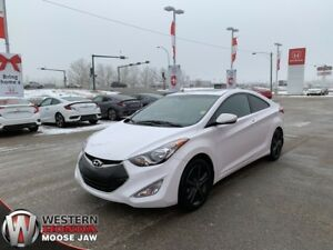 2013 Hyundai Elantra Coupe GLS- Leather, Low KM, Push Button!