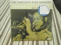 The Fabulous Fats Navaro LP (Japanese Pressing Sealed)