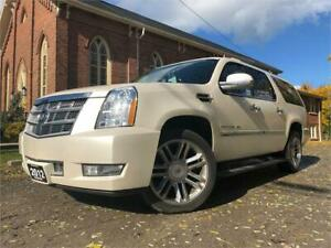 2012 Cadillac Escalade ESV Platinum - LEATHER - SUNROOF - NAV
