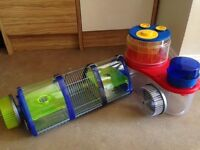 Rotostak hamster cages