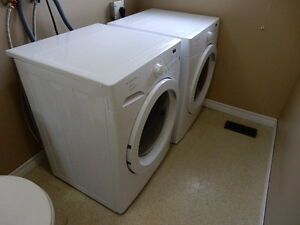 Frigidaire Affinity Washer and Dryer Front Load