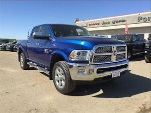 2014 Ram 3500 Laramie 6.4L, GPS and Leather