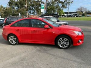 2013 Holden Cruze JH MY14 SRi Red 6 Speed Manual Sedan West Croydon Charles Sturt Area Preview