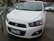 2013 Holden Barina TM MY14 CDX White 6 Speed Automatic Sedan West Footscray Maribyrnong Area Preview