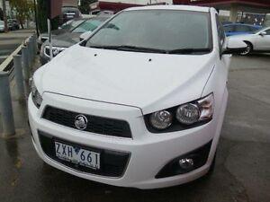 2013 Holden Barina TM MY14 CDX White 6 Speed Automatic Sedan West Footscray Maribyrnong Area Preview