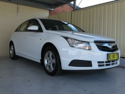 2010 Holden Cruze JG CD White 6 Speed Automatic Sedan Condell Park Bankstown Area Preview