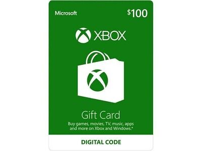 INSTANT DELIVERY XBOX Live $100 Gift Card