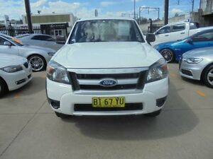 2010 Ford Ranger PK XL Hi-Rider White 5 Speed Manual 4D Utility Holroyd Parramatta Area Preview