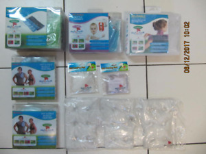 Classic Heat In A Click 7pc Lot Of ReusableTherapeutic Heat Pads