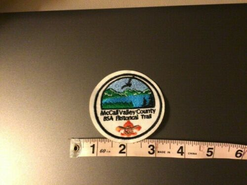 BSA Historical Trail Patch McCall Valley County Idaho