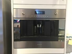 SMEG Integrated Coffee Maker CMS6451X (as new)