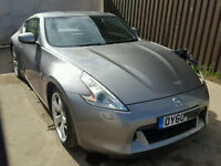 NISSAN 370Z GT, 60 PLATE , 43000 MILES £7995